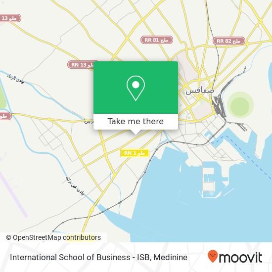 International School of Business - ISB plan