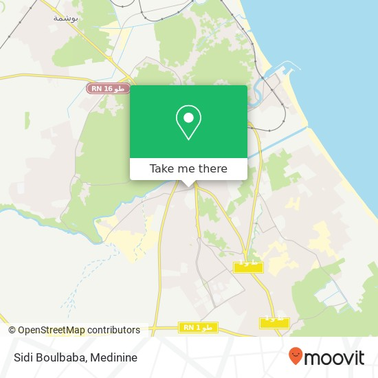 Sidi Boulbaba plan