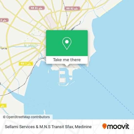 Sellami Services & M.N.S Transit Sfax plan
