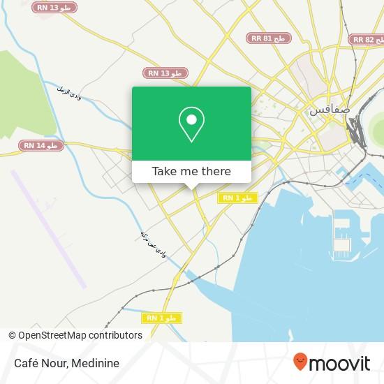 Café  Nour plan