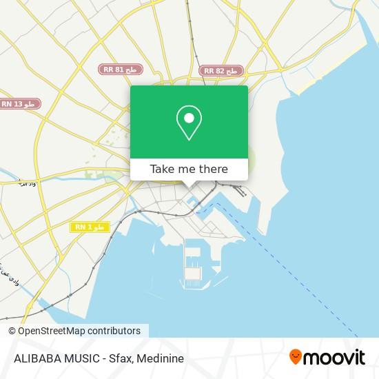 ALIBABA MUSIC - Sfax plan