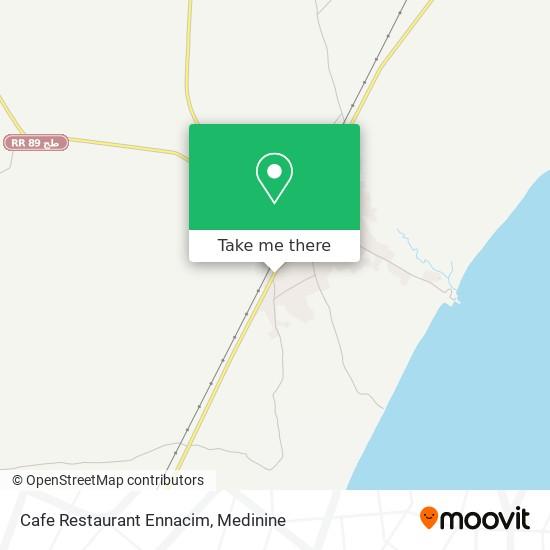 Cafe Restaurant Ennacim plan