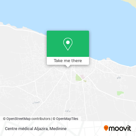 Centre médical Aljazira plan
