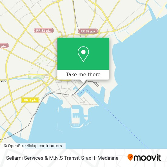Sellami Services & M.N.S Transit Sfax II plan