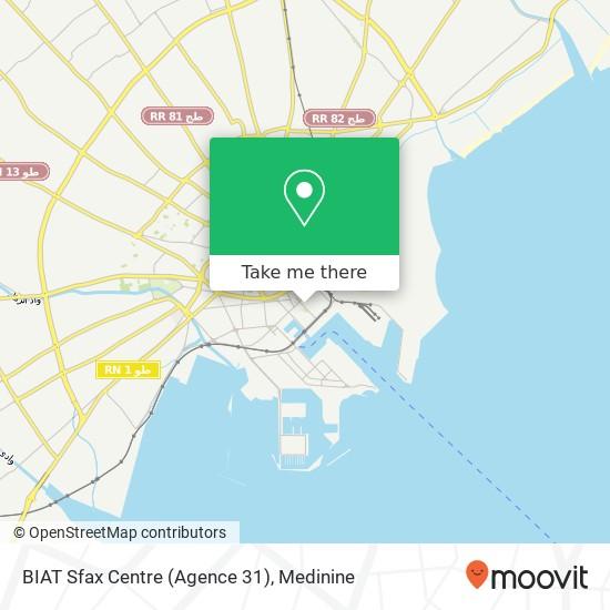 BIAT Sfax Centre (Agence 31) plan