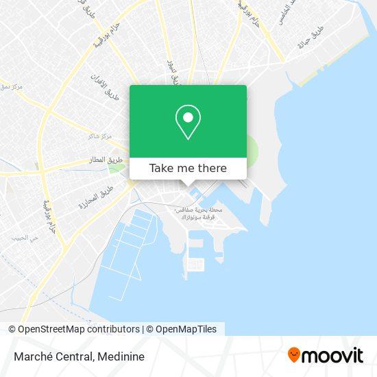 Marché Central plan