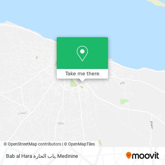 Bab al Hara باب الحارة plan