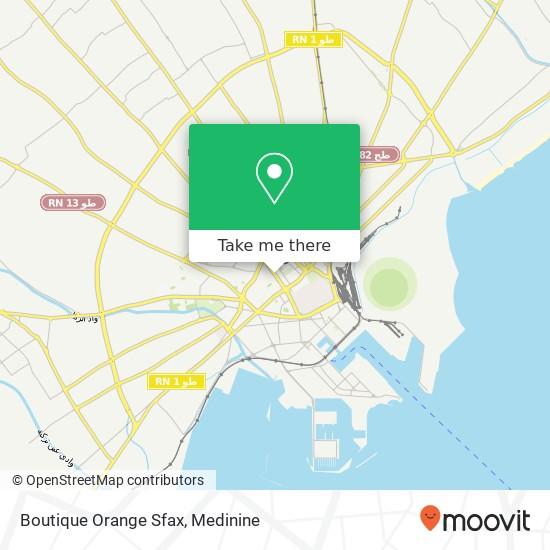 Boutique Orange Sfax plan