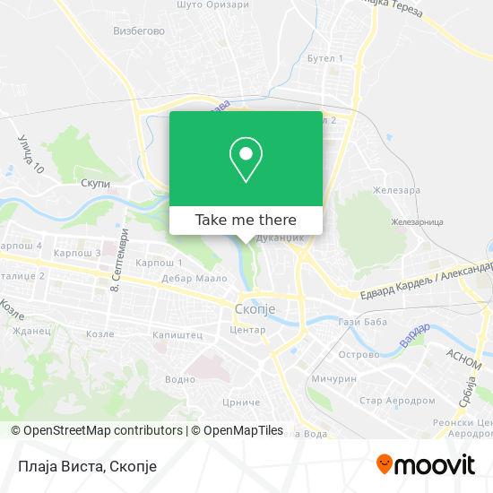 Playa Vista map