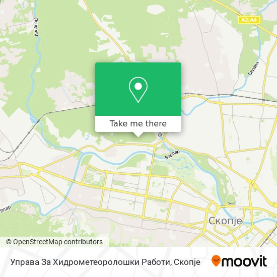 Управа За Хидрометеоролошки Работи map