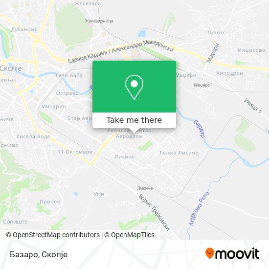 Базаро map
