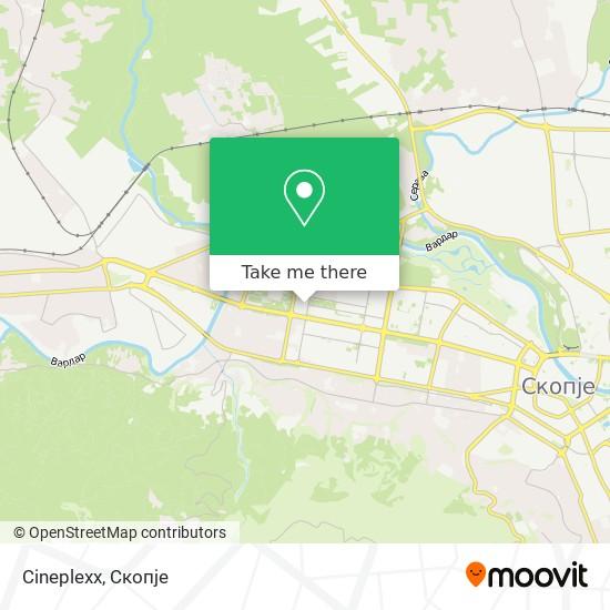 Cineplexx map