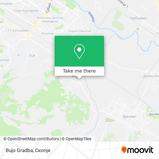 Bujo Gradba map