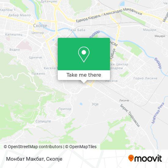 Монбат Макбат map