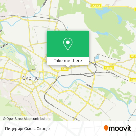 Пицерија Смок map