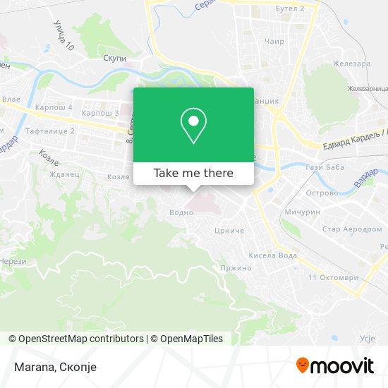 Marana map