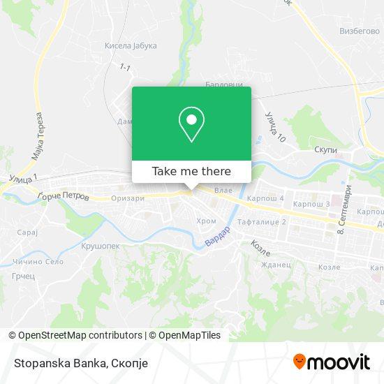 Stopanska Banka map