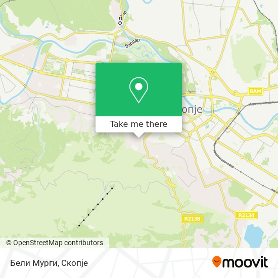 Бели Мурги map