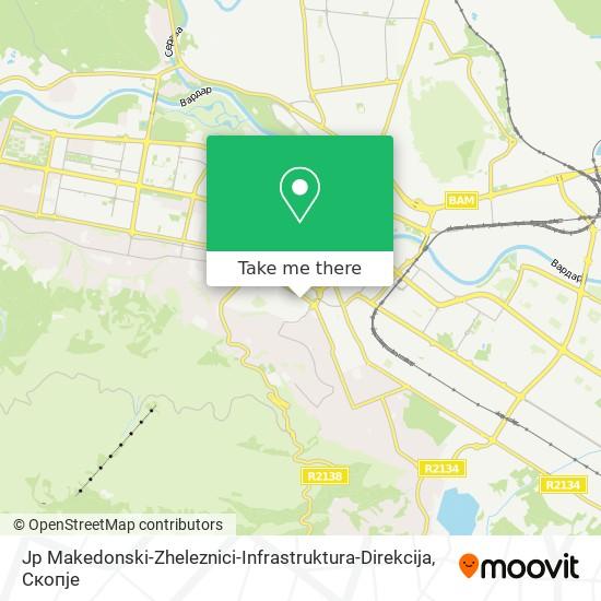 Jp Makedonski-Zheleznici-Infrastruktura-Direkcija map