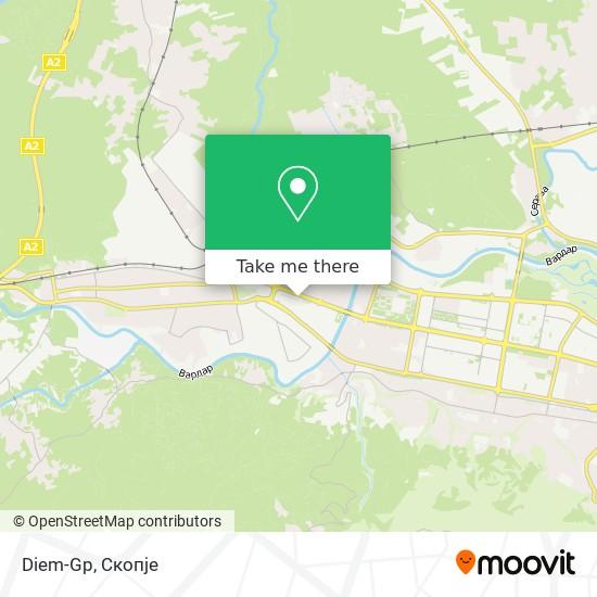 Diem-Gp map