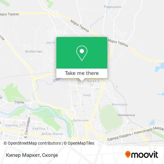 Кипер Маркет map