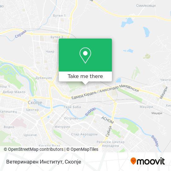 Ветеринарен Институт map