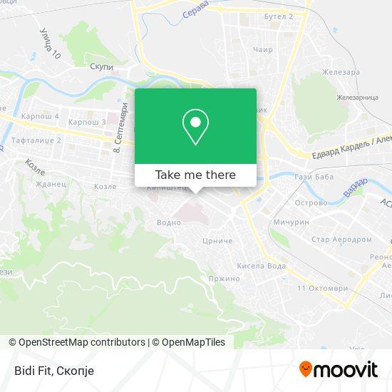 Bidi Fit map