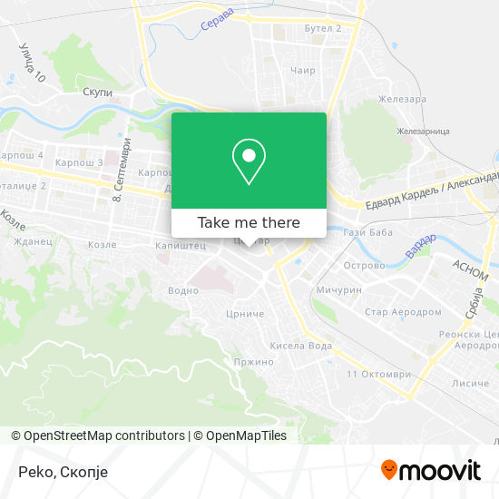 Peko map