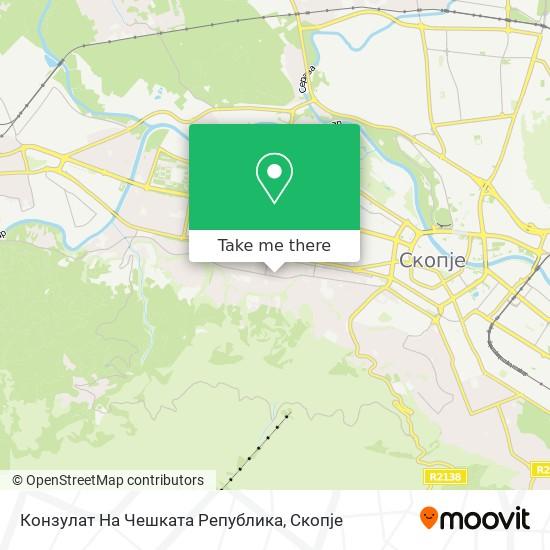 Конзулат На Чешката Република map