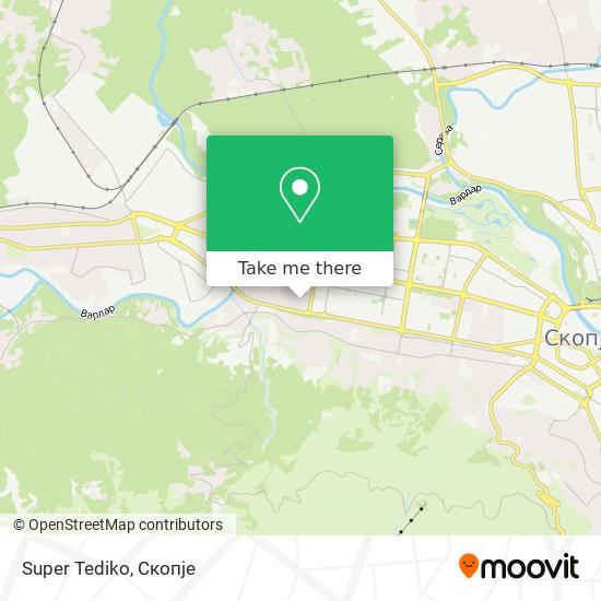 Super Tediko map