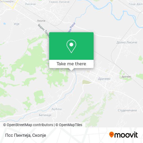 Псс Пинтија map