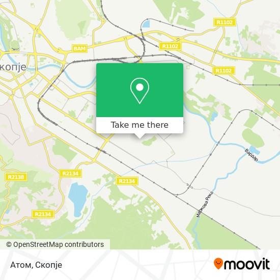 Атом map