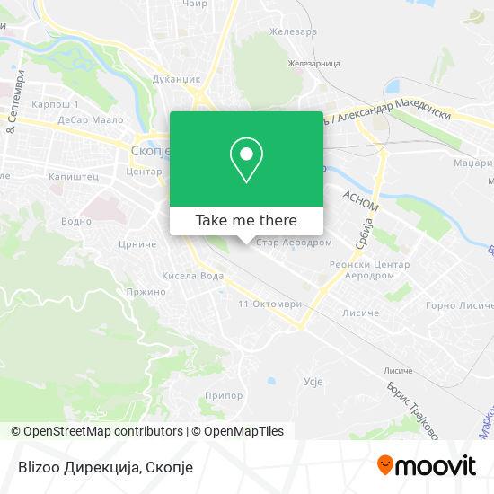 Blizoo Дирекција map