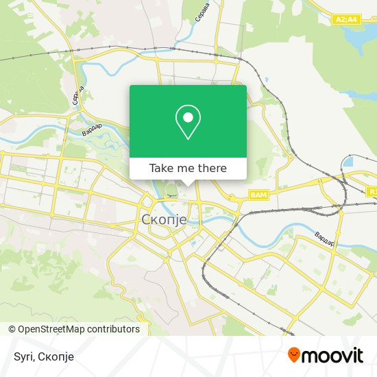 Syri map