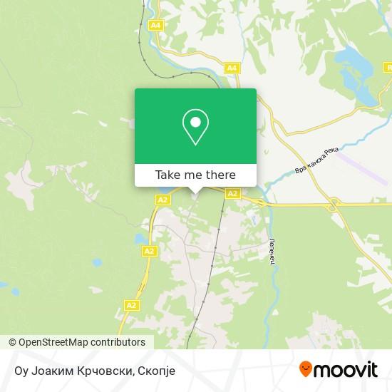 Оу Јоаким Крчовски map