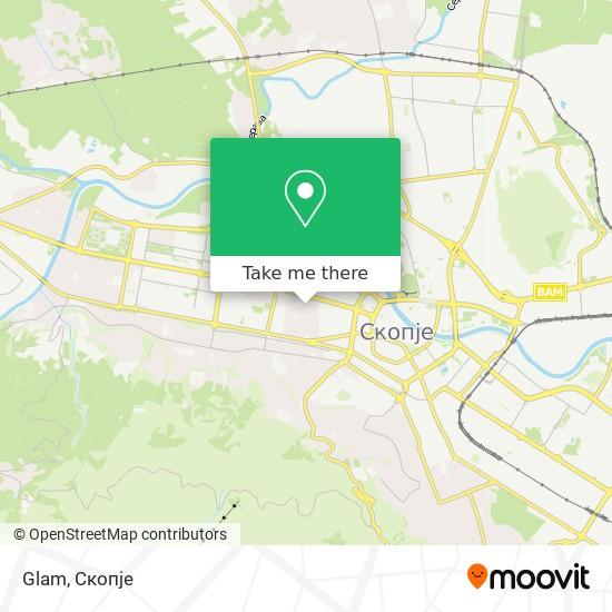 Glam map