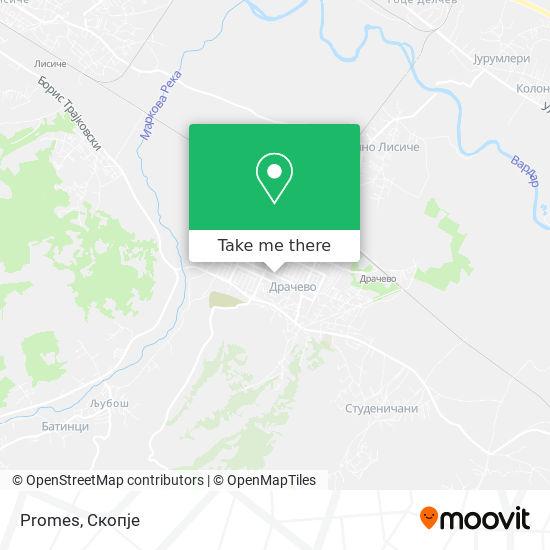 Promes map