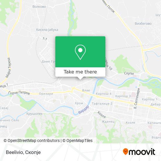 Beelivio map