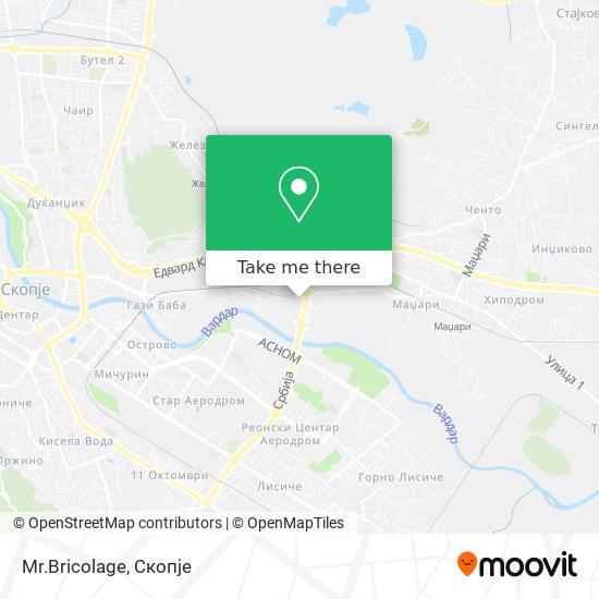 Mr. Bricolage map