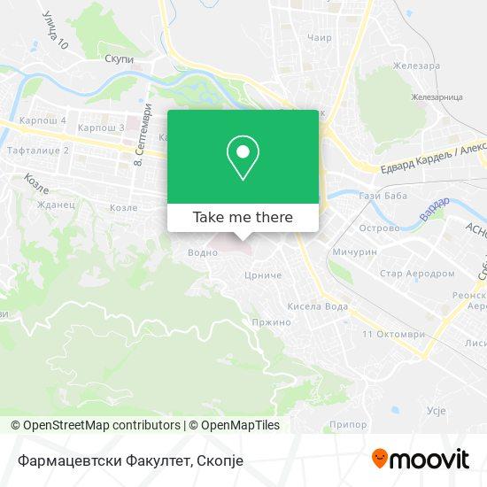 Фармацевтски Факултет map
