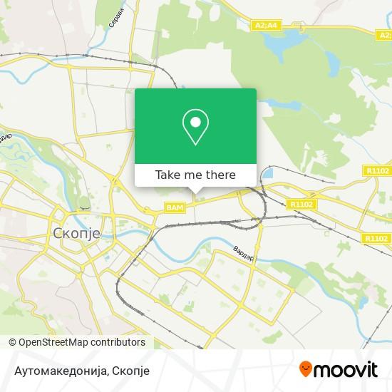 Аутомакедонија map