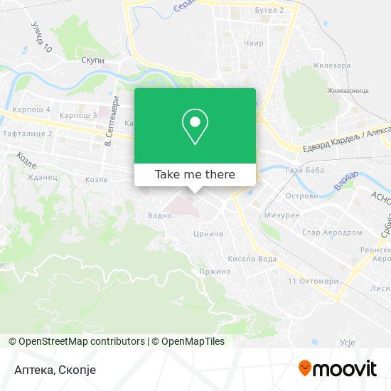 Аптека map