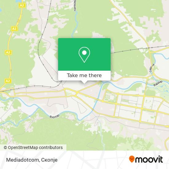 Mediadotcom map