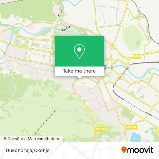 Онкологија map