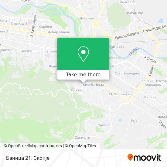 Баница 21 map