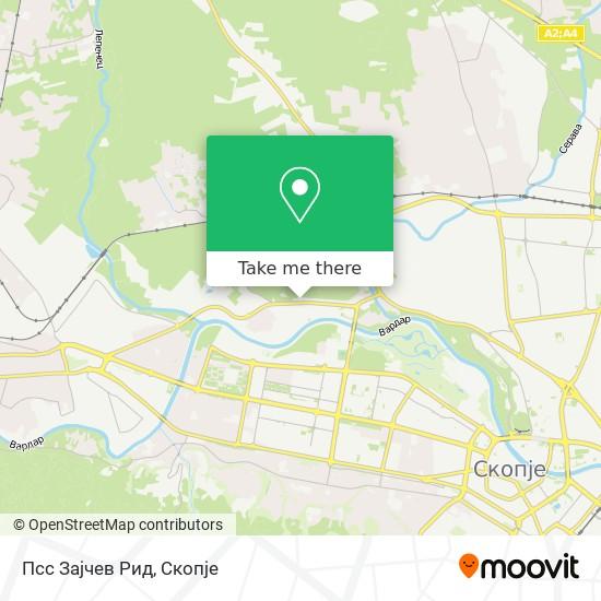 Псс Зајчев Рид map