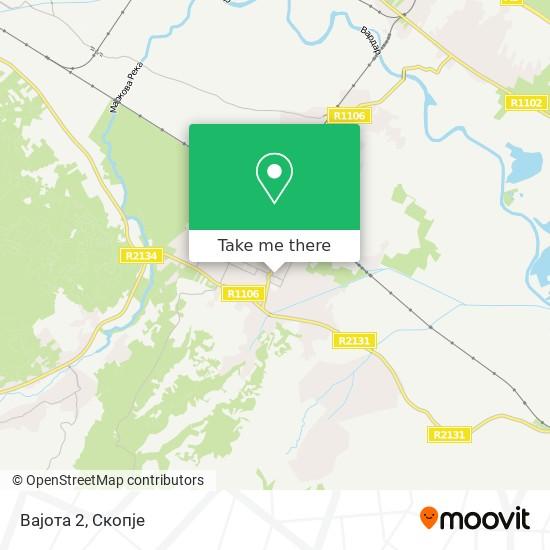 Вајота 2 map