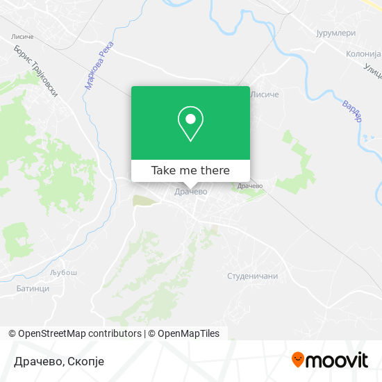 Драчево map