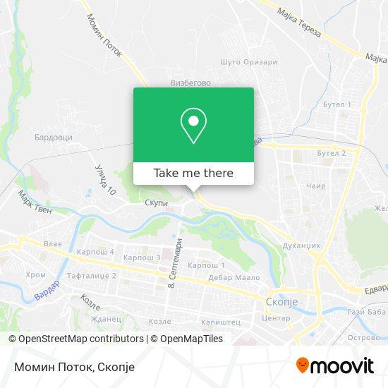 Момин Поток map