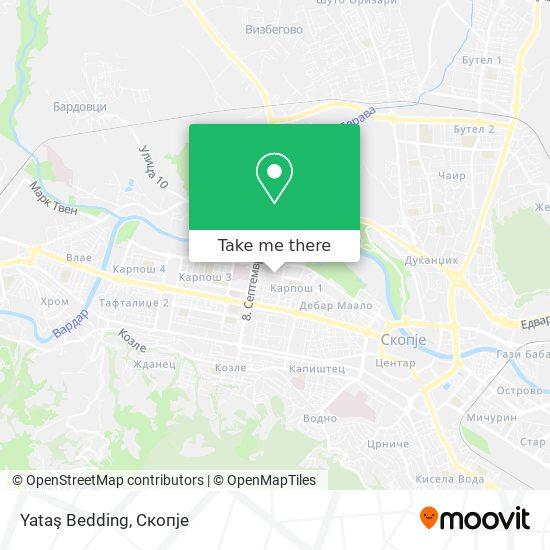 Yatas Bedding map